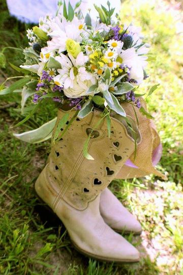 Flower, Boots, Oh my!