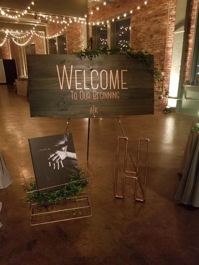 Wedding Decor Set Up