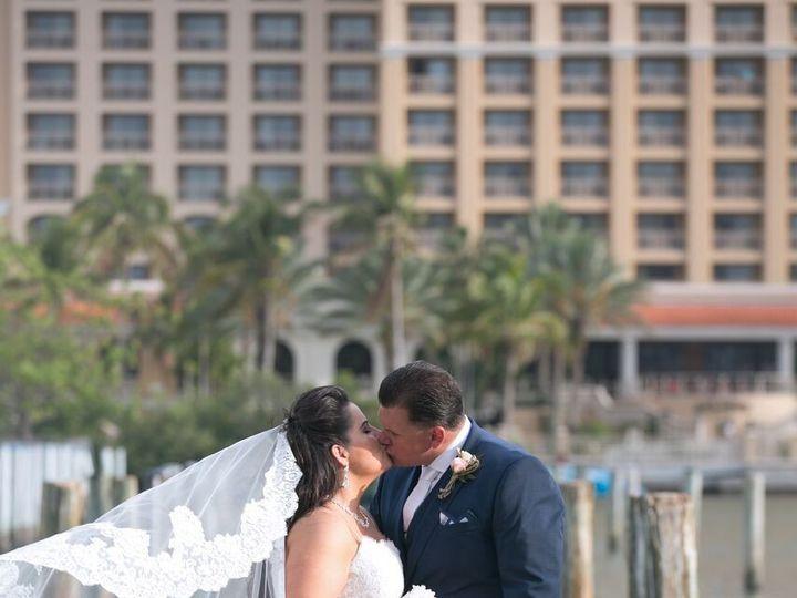 Tmx 1517426779879 Bride W Bq On Dock At Hyatt Sarasota, FL wedding florist
