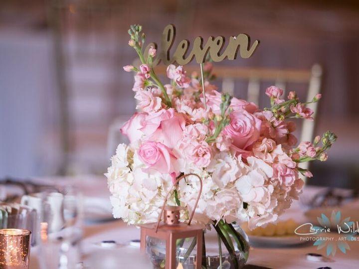 Tmx 1517426787299 Table Centerpice With Hyd Stock Roses Sarasota, FL wedding florist