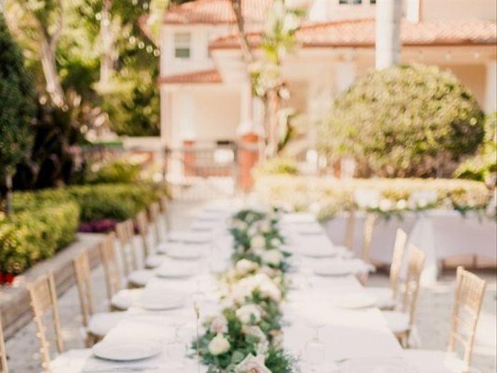 Tmx 1517426812458 Garlandrunnerswtihopenrosesblushandcreamusahdetabl Sarasota, FL wedding florist