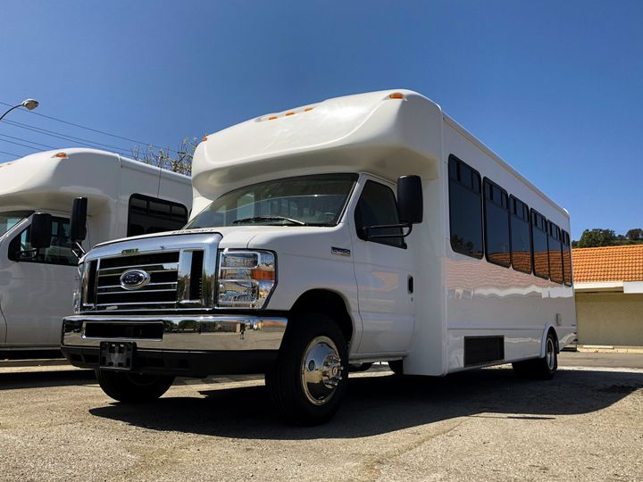 Our new 28 passenger shuttles are ready to roll!