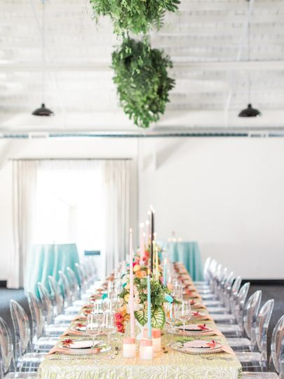 Private dining | Photo Courtesy: Samantha James PhotographyEvent Design: Rhiannon Bosse Celebrations