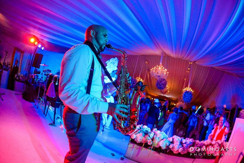 Prime Events and Productions Vivo Dj Live Fusion Saxophone Player