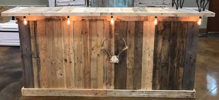 Need a bar to serve drinks at your big event? $150 rental fee (lights and deer horns not included)