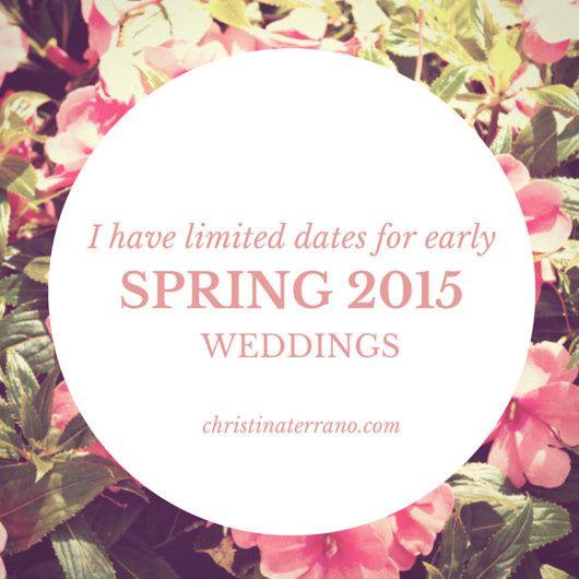Christina Terrano Weddings