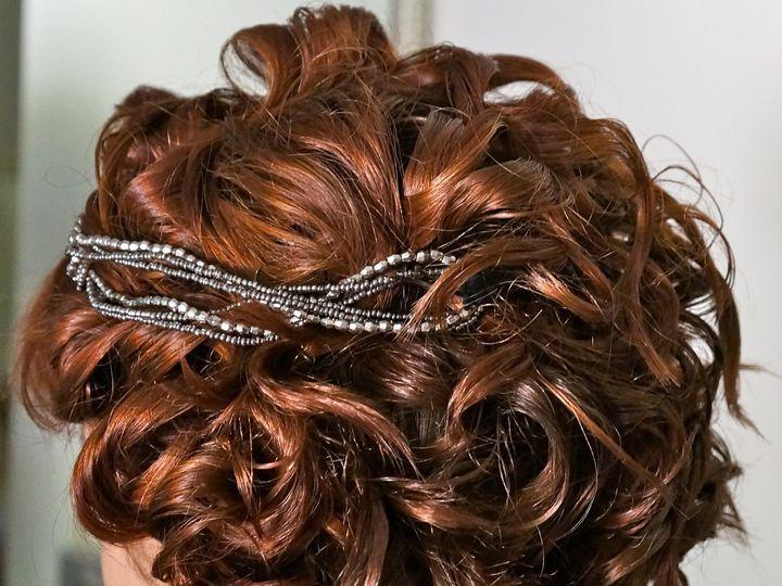 Tmx 1496693738830 12  Old Style Up Do  Volumous Curls  Short Curls   Burbank wedding beauty
