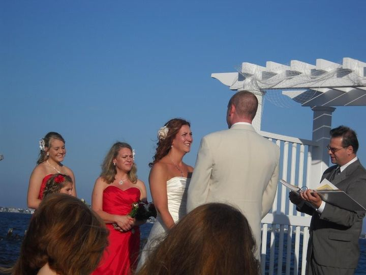 Joseph & Wendy McConnell, Sept. 9, 2011, at Martell's Waters Edge, Bayville, NJ