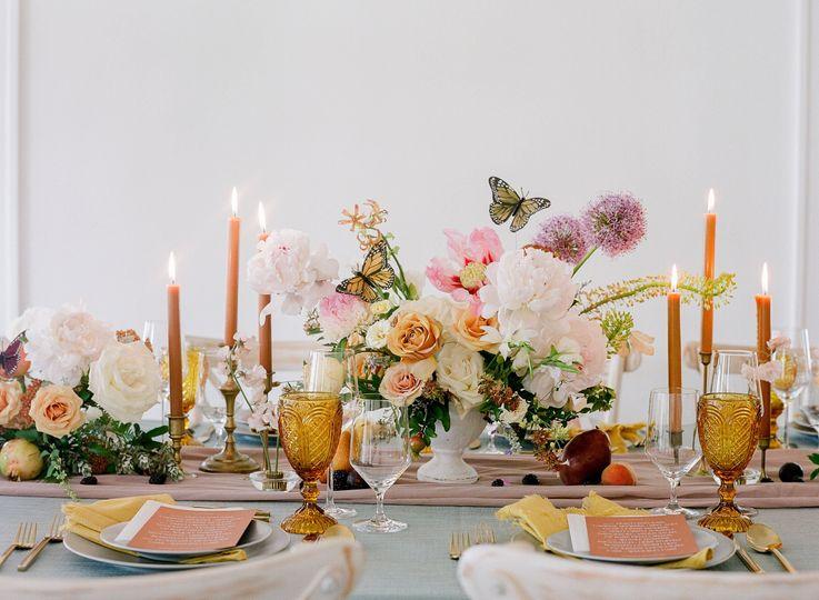 Garden Table Decor