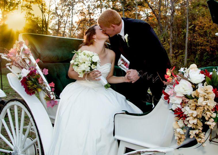 fk bride groom carriag