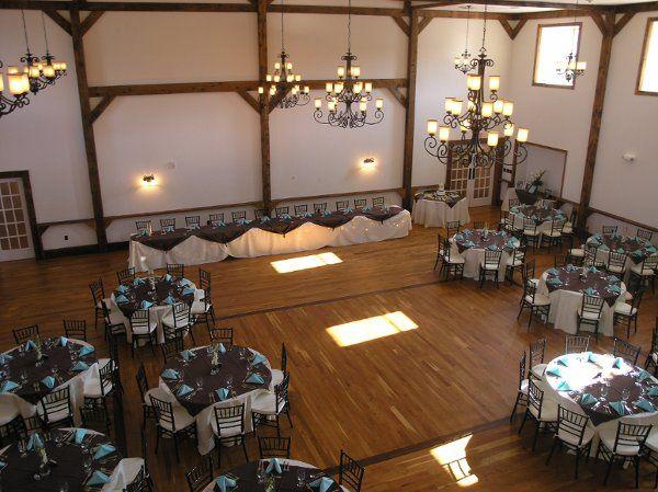 Tmx 1317412038756 Ballroomweddingfromtop Gettysburg wedding venue