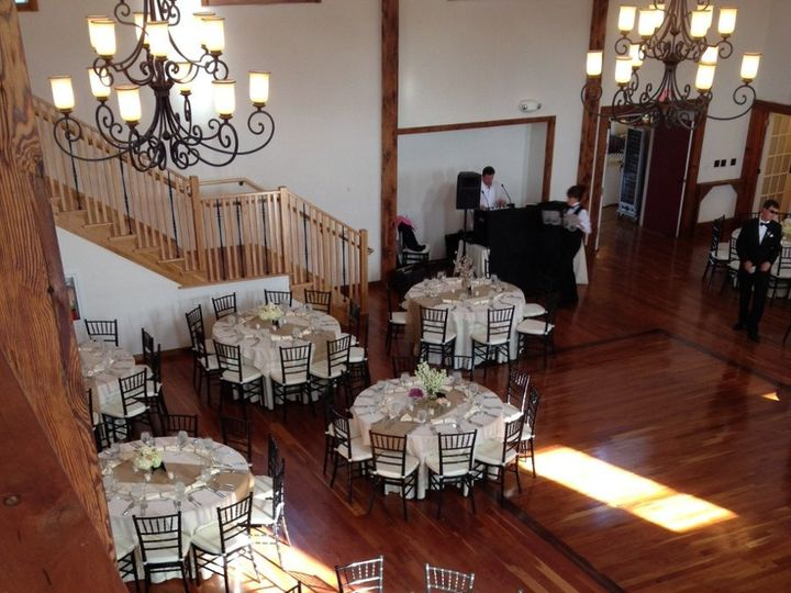 Tmx 1358867232820 Ballroomlookingdown Gettysburg wedding venue