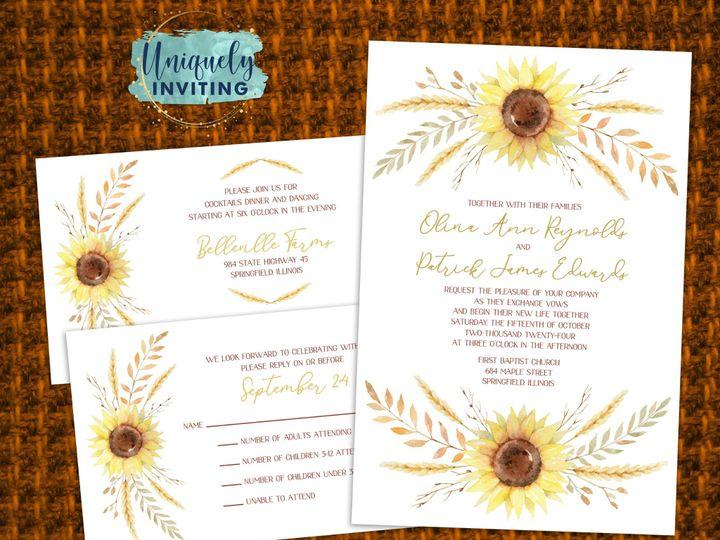 Tmx Autumnharvest 51 57880 158605030786818 Davenport, FL wedding invitation