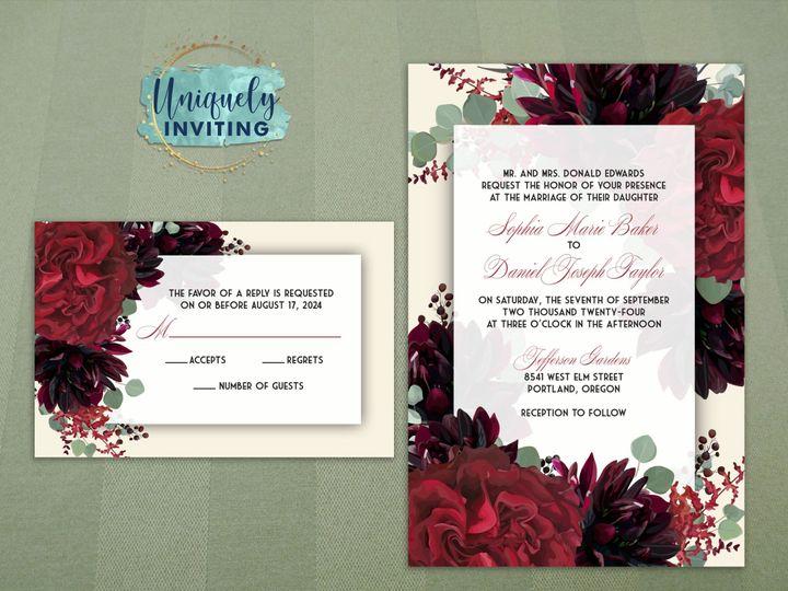 Tmx Deepreddahliaset 51 57880 158605032173779 Davenport, FL wedding invitation