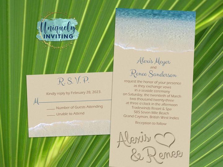 Tmx Namesinthesandset 51 57880 158605035415857 Davenport, FL wedding invitation