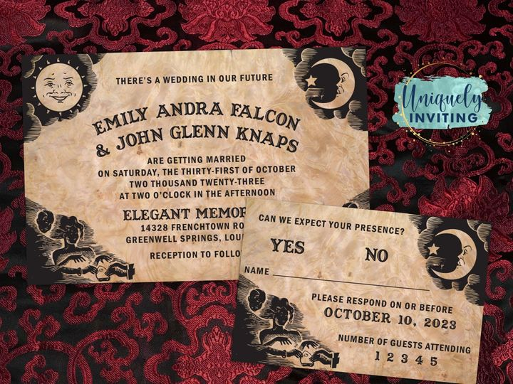 Tmx Ouijaboardset 51 57880 158605035764692 Davenport, FL wedding invitation