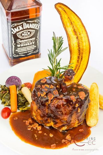 Jack daniels bbq pork shank