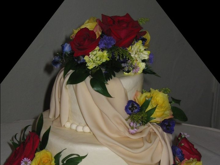 Tmx 1360852771797 Drapecake Schertz, Texas wedding cake