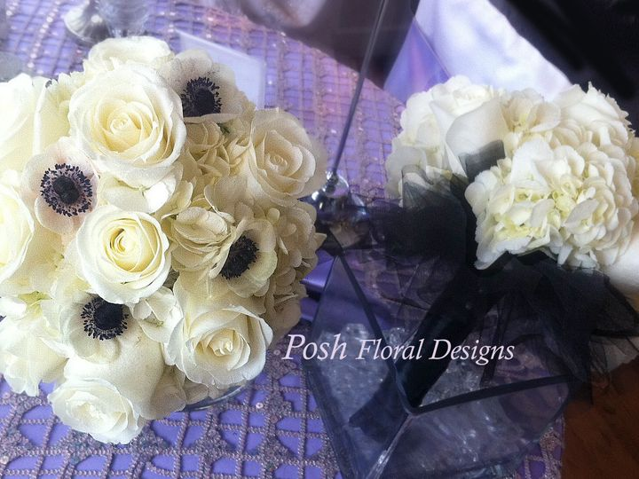 Tmx 1381773723890 Anenome Bridal Bouquet Posh Oakdale, New York wedding florist