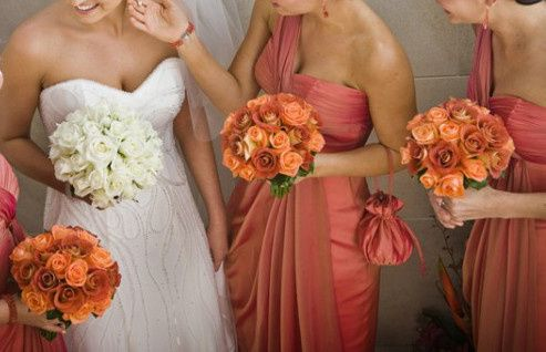 Tmx 1381774884247 Orange Roses Bridesmaid Oakdale, New York wedding florist