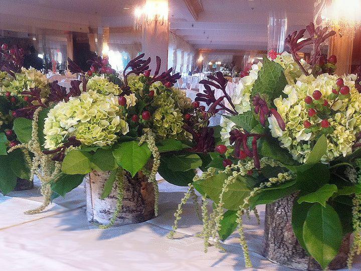 Tmx 1381777422419 Birch Wedding Centerpieces Thatched Oakdale, New York wedding florist