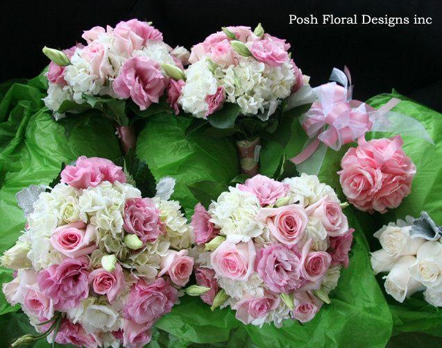 Tmx 1446056638687 Pink Bouquets Oakdale, New York wedding florist