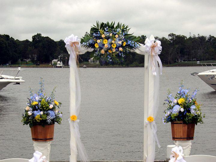 Tmx 1446058879393 Ceremony Arch Snapper Inn 12x15 Oakdale, New York wedding florist