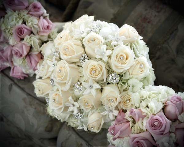 Tmx 1477239803141 Bride Bouquet With Bling Oakdale, New York wedding florist