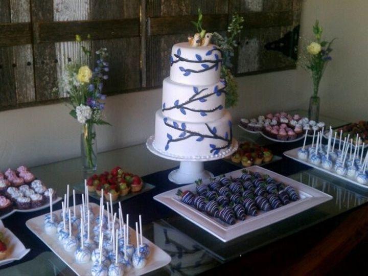 Tmx 1465845721096 Sweet Table Salinas, CA wedding cake