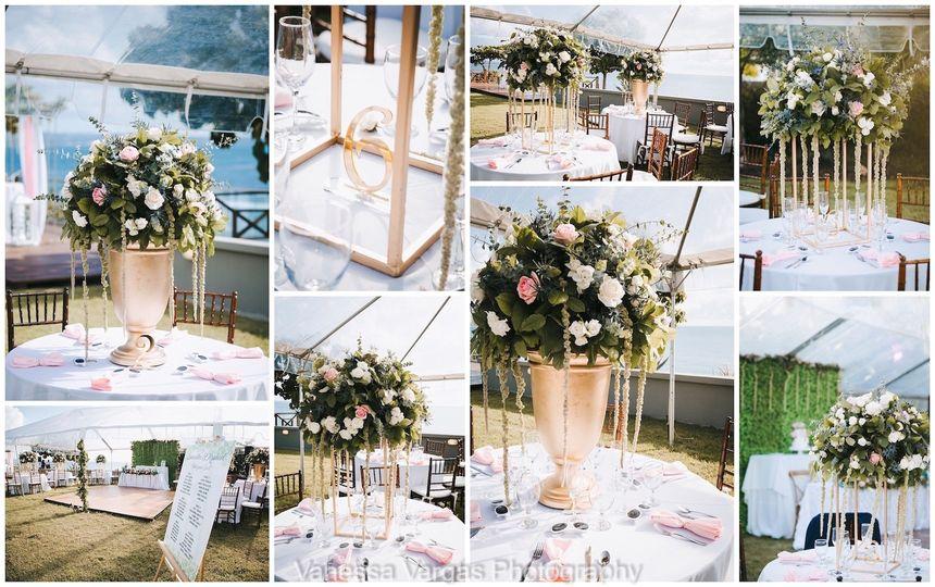 Wedding Decor Villa Carambola