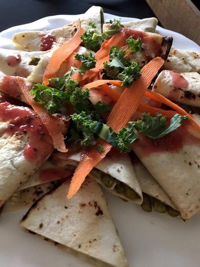 Asparagus brie