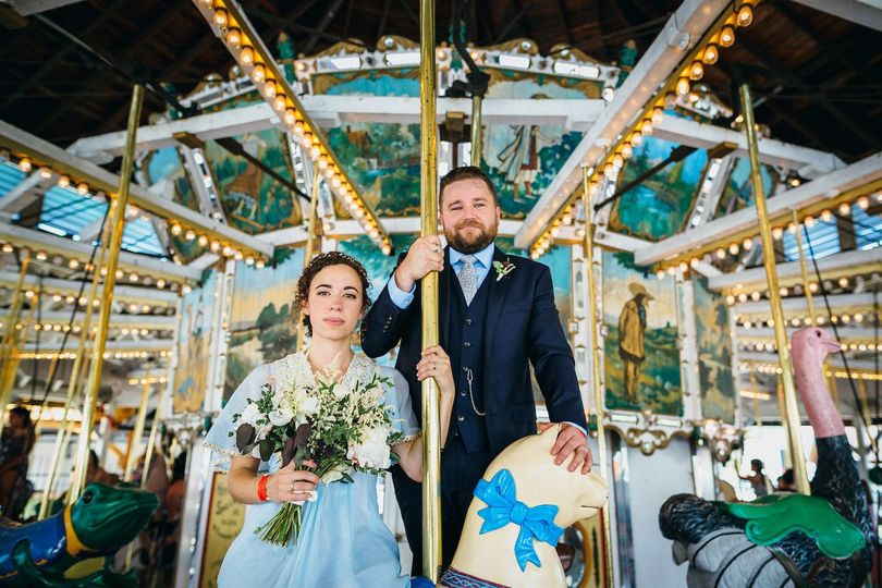 portland wedding photographer oaks amusement park