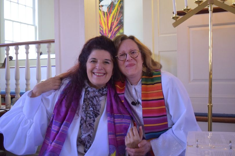 Co-officiant Cantor Irene