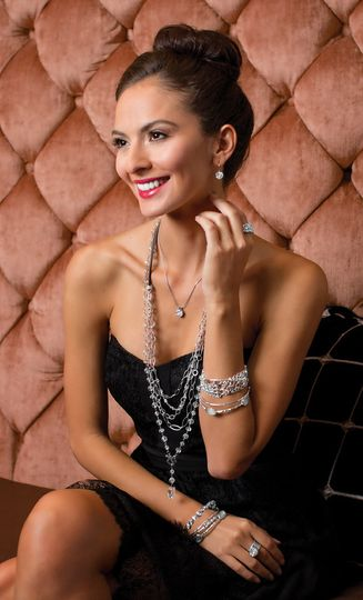 Sterling Silver evening jewelry for that special occasion. Featuring the sterling silver Cavalier...