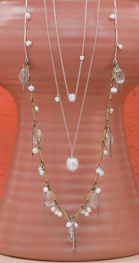 Bridal collection. Jewelry for the bride or bridesmaids. Featuring Party Time Necklace for $129 with...