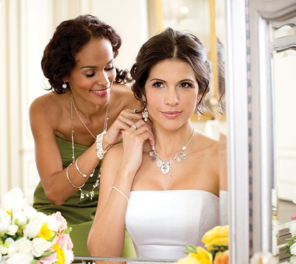 Bridal Collection. Featuring Sterling silver Cascading Earrings for $59, the Take a Bow Bracelet for...