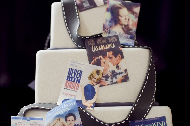 Movie-themed wedding