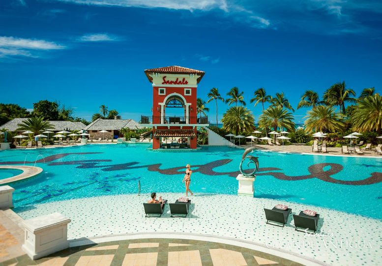 Sandals Antigua a romantic oasis in the Caribbean!