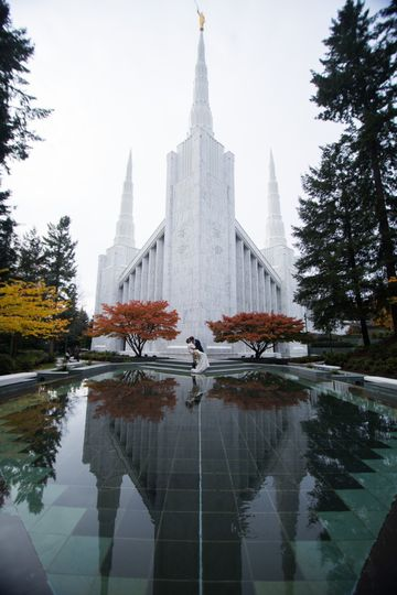 LDS Temple Reflecting Pool