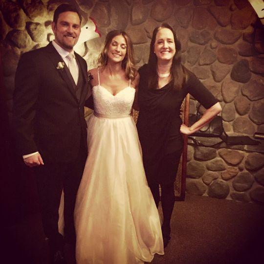 Ballard locks wedding