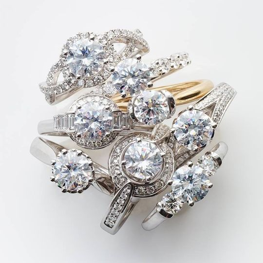 deville diamond ring