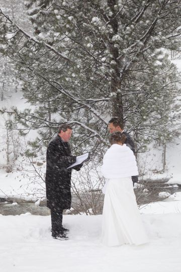 Freezing ceremony