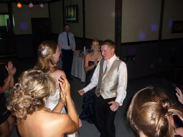 Tmx 1379980092929 9 8 2012 Tad  Carrie Mazik Draft Haus 025 Green Bay, WI wedding dj