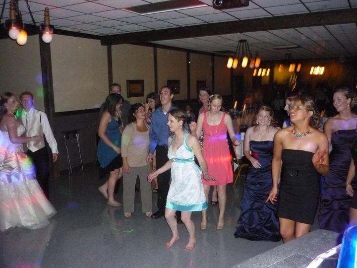 Tmx 1379980402892 9 8 2012 Tad  Carrie Mazik Draft Haus 042 Green Bay, WI wedding dj