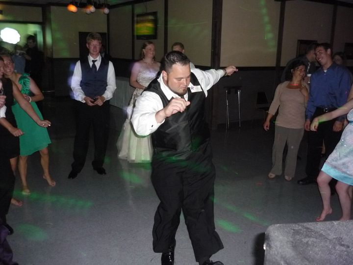 Tmx 1379980421757 9 8 2012 Tad  Carrie Mazik Draft Haus 043 Green Bay, WI wedding dj