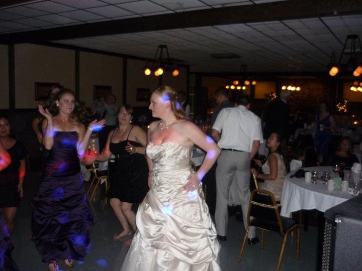 Tmx 1379980878092 9 8 2012 Tad  Carrie Mazik Draft Haus 069 Green Bay, WI wedding dj