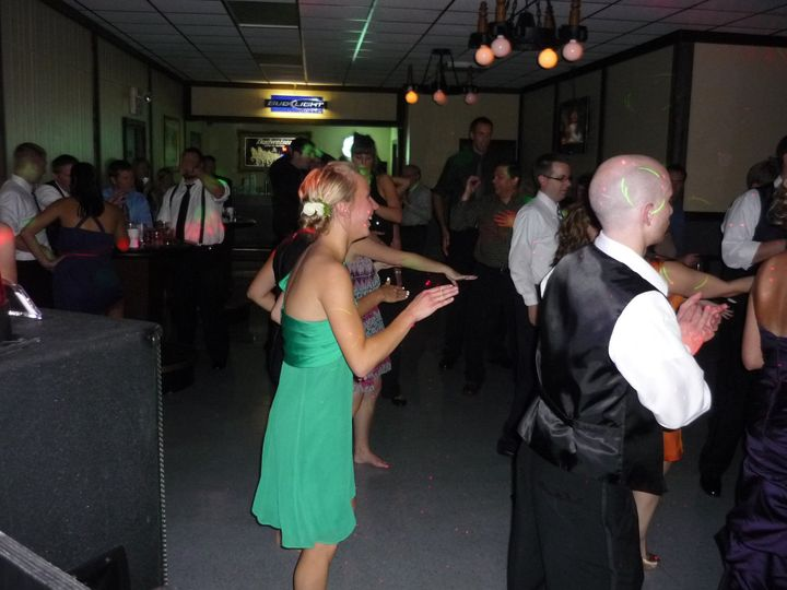 Tmx 1379980958522 9 8 2012 Tad  Carrie Mazik Draft Haus 073 Green Bay, WI wedding dj