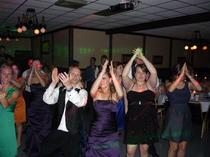 Tmx 1379980997916 9 8 2012 Tad  Carrie Mazik Draft Haus 075 Green Bay, WI wedding dj