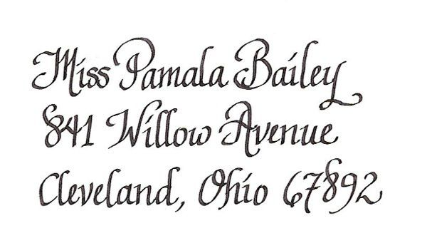 This is the second most used font by my clients. It is the straight version and similar to Tanner...