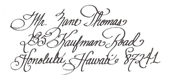 This is my most elegant font. The flourishes are long and very artistic. If you are looking for a...